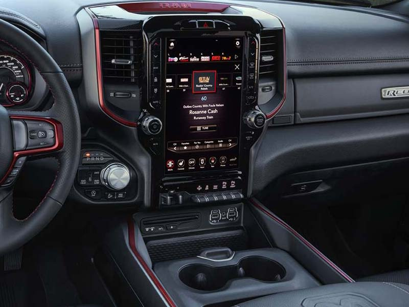 Dodge RAM 1500 High tec en nieuw infotainment