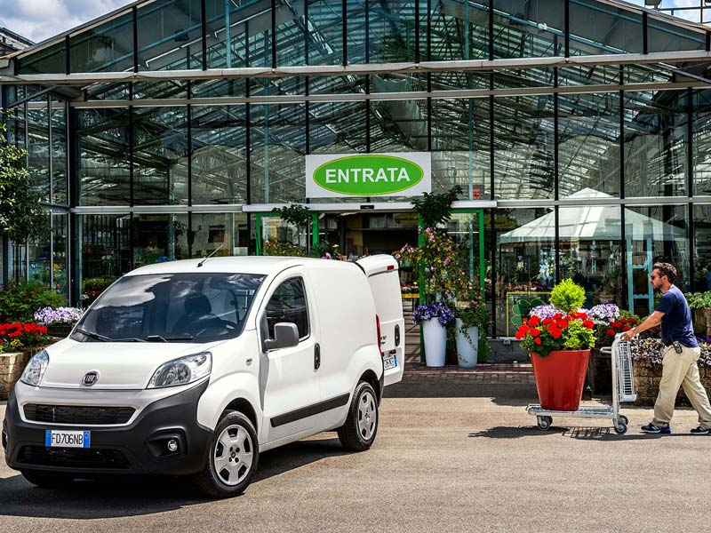 Fiat Professional Fiorino Laden in een handomdraai
