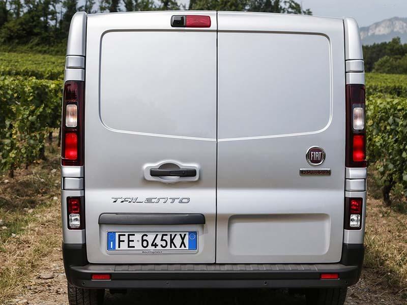 Fiat Professional Talento Flexibiliteit en laadvermogen