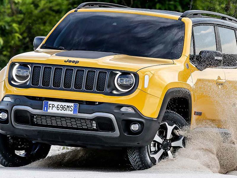Jeep Renegade Klaar om erop uit te trekken