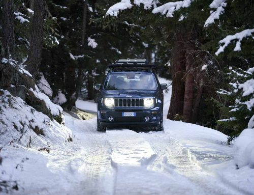 De winter kom je veilig door met een Jeep 4xe