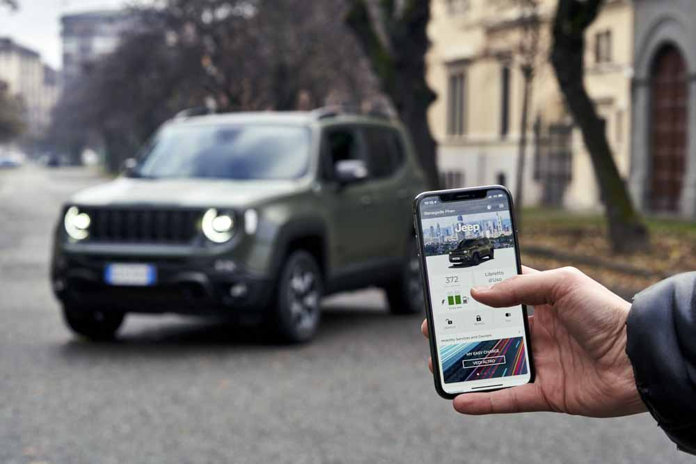 Jeep Renegade Overal thuis voelen